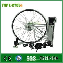 Kit complet de conversion de moteur de roue de vélo électrique e-bike 36V 350W avec batterie
