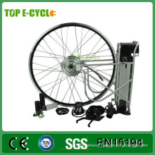 Complete electric bicycle e-bike wheel motor conversion kit 36V 350W with battery