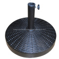 Outdoor 25KGS Strong Round Resin Umbrella Stand