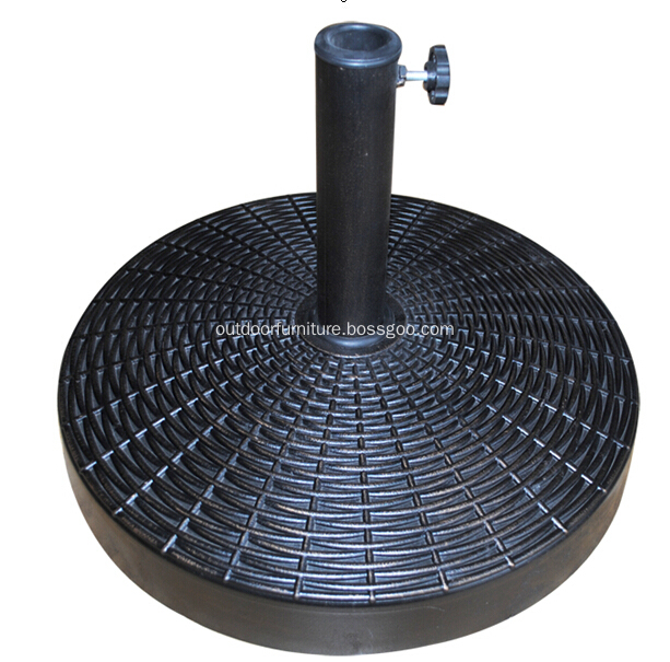 DL-030-25 Outdoor 25KGS Strong Round Resin Umbrella Stand