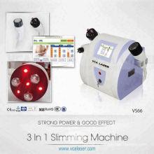 Mini machine de cavitation de laser de rf de réduction de graisse d'ultrason