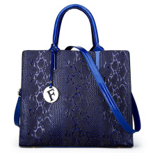 Classic Stylish Crocodile Texture Ladies Leather Hand Bag