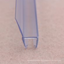 Banda de sellado de puerta de PVC de sellado profundo H sharp para puerta de ducha de vidrio