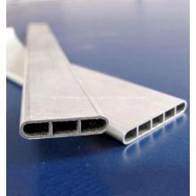Tubo de radiador de aluminio plano micro multipuerto