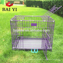 Commercial Small Metal Dog Cage Folding Dog Cage Pet Cage With Plastic Tray