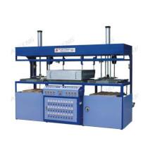 Halbautomatische Doppelkopf-Vakuumformmaschine
