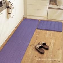 tapete de tapete de área de antiderrapante de microfibra de cozinha móvel