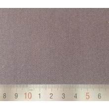 Ropa de trabajo 3/1 marrón polivinílico/del algodón de la tela cruzada