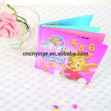 Elmo liebt rote pädagogische Tuch Babybuch, EVA Baby Spielzeug Bad Buch lernen