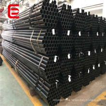 1 inch 3/4inch 1/2 inch Black cold rolled round steel pipe
