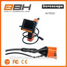 portable video endoscope system inspection borescope tube camera