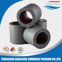 Haute qualité carbone graphite carbone raschig anneau tour emballage