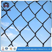 Chain link wire mesh fencing