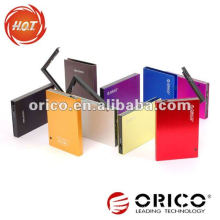 ORICO 2595SUS3 9,5 mm 2.5 '' Interfaces de alumínio e-SATA e USB3.0 Gabinete de HDD externo