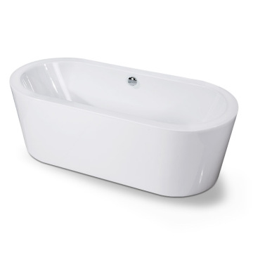 Mermaid Center Drain - Baignoire De Trempage - Blanc