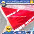 factory direct sale high gloss clear and color recycled plexiglass