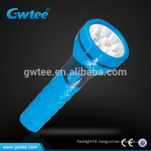 The most powerful rechargeable led torch light flashlight