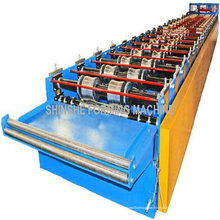 Metal para constituir uma máquina de cobertura