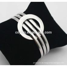 Edelstahl verstellbares Charmearmband ausziehbares Drahtarmband