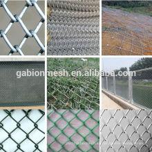Valla de enlace de cadena usada para la venta / valla de enlace de cadena galvanizada / valla de enlace de cadena decorativa (proveedor de china)