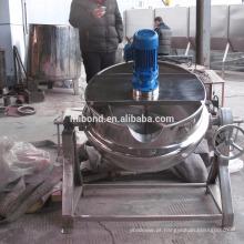 Máquina de derretimento de aquecimento de aço inoxidável comercial de aço inoxidável do chocolate 50L-500L com agitador