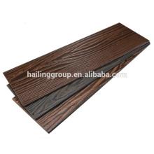Haus Dekoration Außenwand Holzmaserung Faser Zement Plank