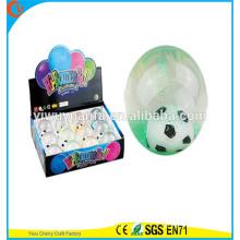 Высокое качество детские игрушки резиновые светодиодные Футбол мигающий свет воды прыгающий мяч