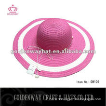 fashion floppy straw hat