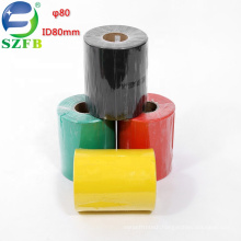 Feibo colorful red/green/yellow/blue/black/white/transparent ID 80mm cable heat shrink tubing