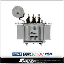 O transformador trifásico 11 / 0.415kv do poder 1000kVA imergiu o transformador de poder