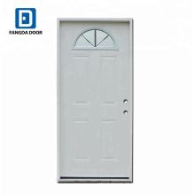Porta do metal do projeto da porta do painel da alta definição de Fangda