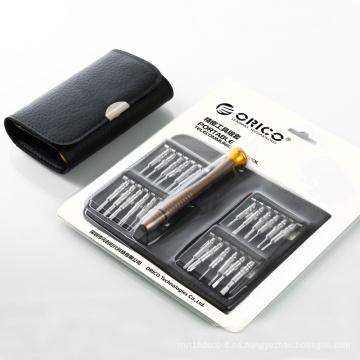 ORICO ST1 24 piezas en un juego de destornilladores