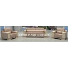 Sofá ejecutivo moderno 1 + 1 + 3 (FOH-8015)