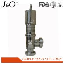 Válvula de alivio de presión sanitaria de acero inoxidable