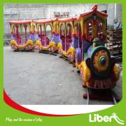 Cheap Amusement Park Kiddie Rides Electric Mini Train for Sale Le. EL. 079