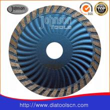 115mm Sintered Turbo Wave Saw Blade for Fast Cutting Granite