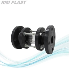 Plastic Sight Glass Flange Connection For Corrosive Liquid