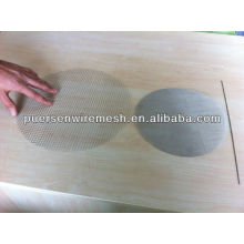 SS304 WOVEN WIRE MESH DISC FORM