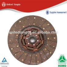 Disco de embrague howo de calidad genuina para WG9914161100 AZ9725160200