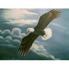 Pintura de Eagle do animal Handmade