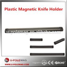 Alta calidad de plástico colorido magnético titular del cuchillo