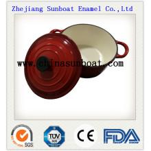 Täglicher Gebrauch-Suppentopf des chinesischen Emails