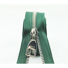 Metal Zip Teeth No.8 Zipper para roupas esportivas