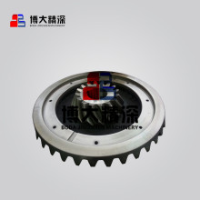 Nordberg GP100 cone crusher parts gear and pinion