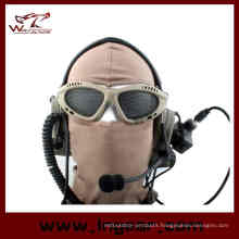 Hot! Hunting Airsoft Net Tactical Shock Resistance Eyes Protecting Outdoor Sports Metal Mesh Glasses Goggle