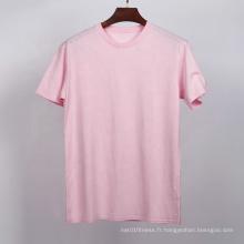 T-shirt blanc pour hommes