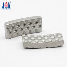 Huazuan new shape groove dot turbo core drill bit diamond segments