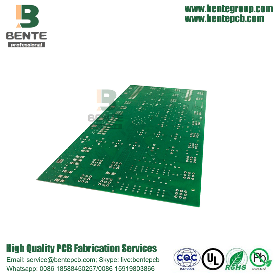 2 Layers PCB Low Cost PCB FR4 Tg135 HASL lead free