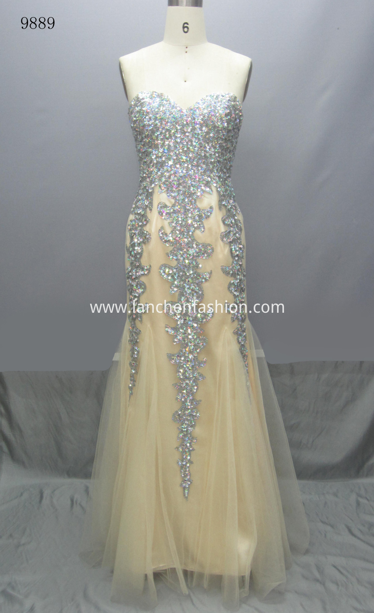 Sweetheart Long Dress