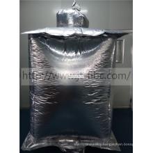 Square aluminum foil liner